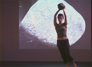 click for a bigger view of excerpt from COMPASS choreography and video by Charles Dennis