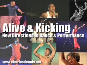 Alive & Kicking Photo Montage titled enlarged